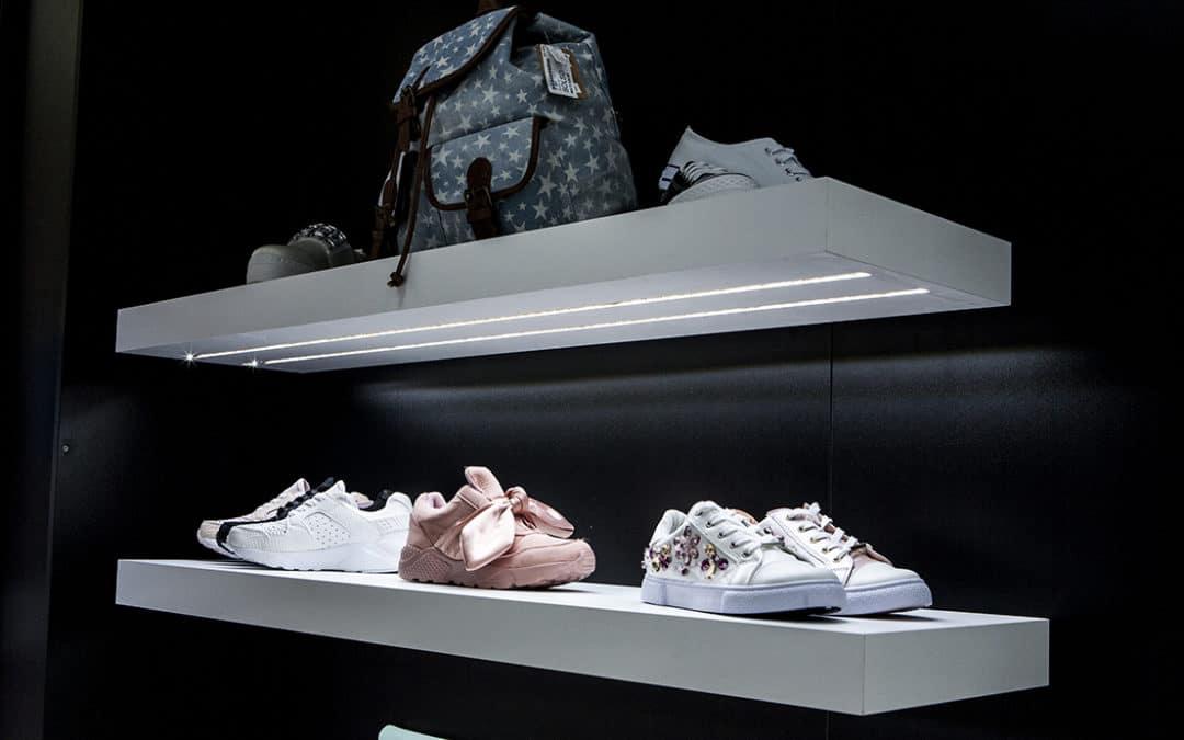 Expositores de calzado