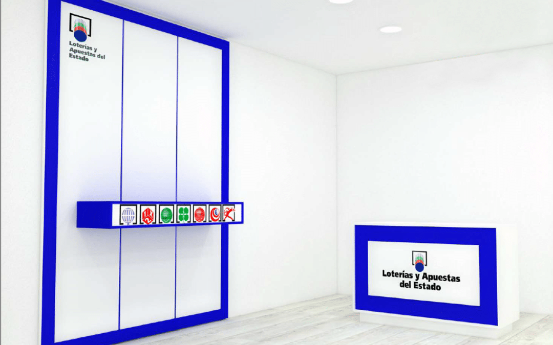 Mobiliario comercial para tu puesto de lotería