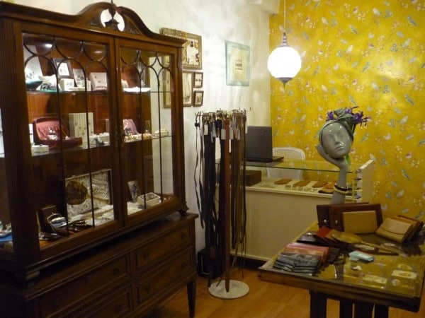 mobiliario comercial estilo vintage